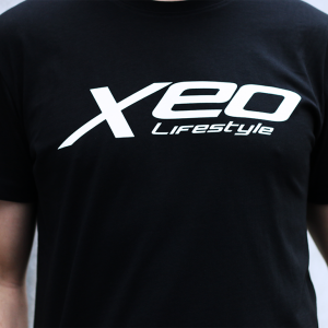 Original Black XEO-Lifestyle T-shirt Close Up