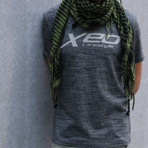 Blade Grey XEO Lifestyle T-shirt close up